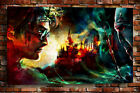 Poster, Oil Painting HD Canvas Print / Modern Art Decorative Harry Potter