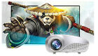 Home Theater 5000 Lumens LED LCD 3D Projector 1080P HD HDMI TV PC AV USB VGA SD
