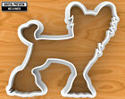 Chinese Crested Dog Cookie Cutter, Selectable sizes