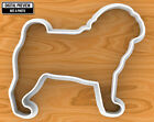 Pug Dog Cookie Cutter, Selectable sizes