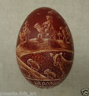 Real Goose Egg Scratched. Goose Egg Pysanky Pysanka from Ukraine
