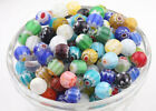 20 Mixed Millefiori Glass Loose Spacer Beads Charm Finding 4-6-8-10-12-13mm