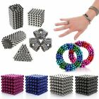 3/5mm Cube Magnetic Magnet Bucky Balls Spacer Beads Children Adults DIY Toys