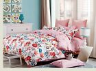 100% Cotton Egyptian Cotton King Double Duvet Cover and 2 Pillowcases 200 Thread