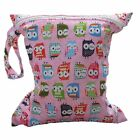 Awesome Baby Protable Nappy Washable Wet Dry Zipper Infant Cloth Diaper Bag