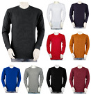 Big and Tall & Regular sizes -  Mens THERMAL Shirts - Crew - Heavy Weight image