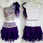 Mädchen/Damen Cheerleader-Kostüm/Kleid Fasching/Cosplay Dress Gr. 98-188 XS/M