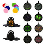 Black Stainless Steel Aromatherapy Perfume Essential Oil Diffuser Pendant Charm on eBay