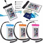 Underwater Lustrous Pouch Waterproof Dry Bag Case Cover For iPhone Smart Phone