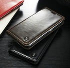 Luxury Leather Wallet Card Holder Flip Case Cover For Samsung Galaxy S7 EDGE