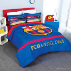 BARCELONA FCB Bedding Twin Full Queen Comforter Blanket Decoration Spain Soccer image