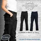 UC905 Ladies Womens Cargo Combat Work Wear Trousers Pants Black Navy Size 8 - 20