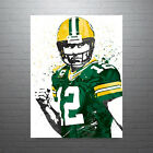 Aaron Rodgers Green Bay Packers Poster FREE US SHIPPING $49.99 USD on eBay