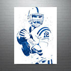 Andrew Luck Indianapolis Colts Away Poster FREE US SHIPPING $30.0 USD on eBay