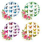 3D Butterfly Wall Decals Home Room Curtain Butterfly Stickers DecorationS*12