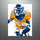 Von Miller Denver Broncos Poster FREE US SHIPPING $35.0 USD on eBay