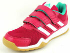 "ADIDAS  Kinder Halle Freizeit  ""INTERPLAY CF K""  pink/weiss  Gr. 28 - 38,5"