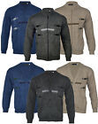 Mens Classic Button Or Zip Up Cardigan Classic Grandad M-4XL