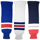 New York Rangers Knitted Classic Hockey Socks - Navy Royal White $14.99 USD on eBay