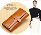 RFID Blocking Wallet PROTECT your Credit Card info. Womens Genuine Leather Purse
