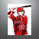 Mike Trout Los Angeles Angels of Anaheim Poster FREE US SHIPPING on Ebay