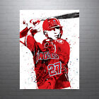 Mike+Trout+Los+Angeles+Angels+of+Anaheim+Poster+FREE+US+SHIPPING