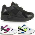 BOYS RUNNING TRAINERS INFANTS KIDS SHOCK ABSORBING GIRLS SCHOOL SPORTS SHOES NEW