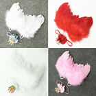 Newborn Baby Girls Crown Headband+Feather Wing Costume Photo Prop Outfits Set