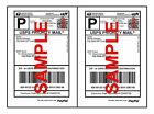 200 Economy Self Adhesive Paypal -Ebay Quality Mailing Shipping Labels 8.5 x 5.5