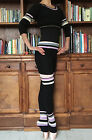 Set of lady girl ballet dance fitness knitted warm-up tops+ shorts+ leg warmers