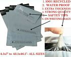STRONG GREY SELF SEAL POLY POSTAL MAILING BAGS QUALITY PLASTIC POSTAGE MAILERS//