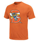 New York Mets MLB Vintage Affiliate- Binghamton Mets Adult MiLB 2 Button T-shirt