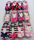 NEW CO-ZEE SHERPA  SLIPPERS 12 DESIGNS FLEECE LINED SIZE 4 / 7 SHOE WITH GRIPPER