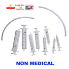 1x 2x 3x - 2ml 5ml 10ml 20ml BD SYRINGE +20CM TUBE PET FEEDING VET DOSING DOG