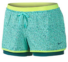 Nike 2 in 1 Full Flex Running Training Inner Compression Shorts  Womens XS S M L