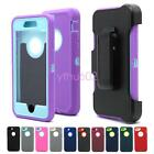 New Hybrid Rugged Protective Case W/Belt Clip Holster Rubber Cover iPhone 7/Plus
