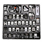 42pcs Domestic Sewing Machine Parts Presser Foot Set For Janome Brother Singer