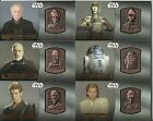 2016 Topps Star Wars Attack Clones 3D Widevision Bronze Medallion Card #ed / 50
