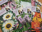 Various Sarah Raven's Seeds - Sow By 2017 - Pick Your Own Varieties