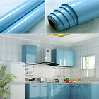 yazi Gloss Oil Proof PVC Self Adhesive Contact Paper Kitchen Wall Sticker Decor