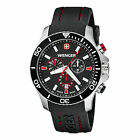 Wenger Men's Sea Force Chrono Watch with Silicone Bracelet