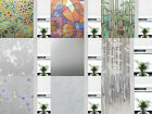 "CHOIS Adhesive Film A Privacy Frosted Glass Window Films Decor Stickers 35"" Wide"