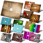 """For Macbook Pro 13"""" Touch Bar Air 11""""15"""" Wood Painting Hard Case Shell + KB +SP"""