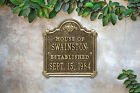 Chatham Anniversary Wedding Personalized Plaque