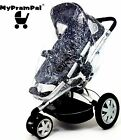 My Pram Pal® Raincover compatible with MOUNTAIN Pushchair, Pram, Buggy Stroller