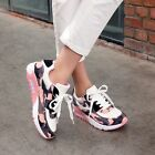 Womens Camo Air Max Sneakers Flat Casual Lace Up Athletic Sports Shoes Running