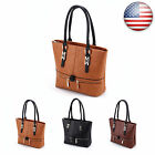 Women Leather Handbag Ladies Purse Shoulder Messenger Satchel Crossbody Tote Bag