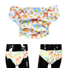Washable Printed Adult Diaper Pant Reusable Cloth Diaper Incontinence Nappy Jian