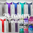 10 20 30 50 quality satin chair sash bows covers wedding party venue decrations
