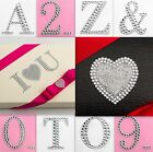 5.5cm Self Adhesive stick on diamante Letters & Numbers card Embellishment Craft